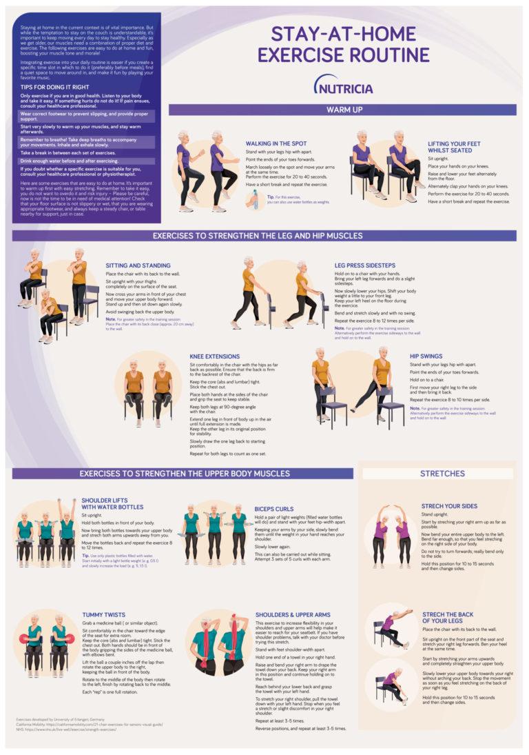 Nutricia godt kosthold og gode helse med fysisk aktivitet