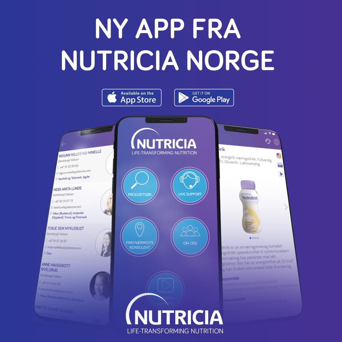 Ny app fra Nutrica!