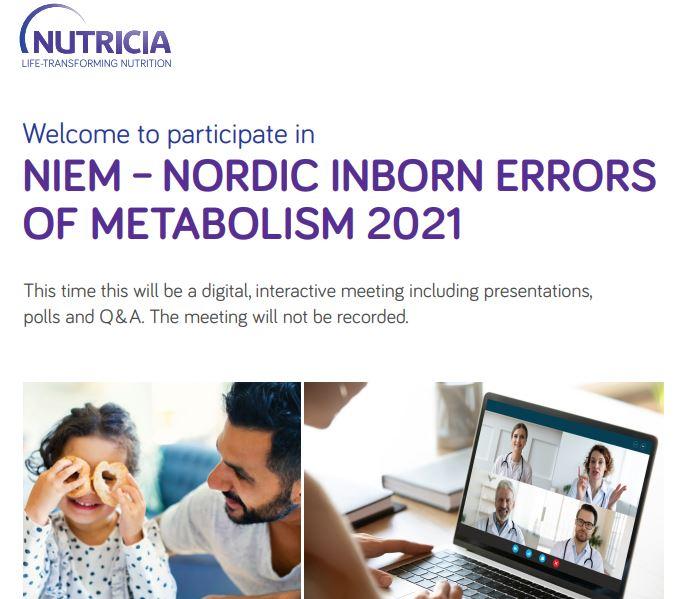 Nordisk møte om medfødte metabolske sykdommer 27.-28. mai