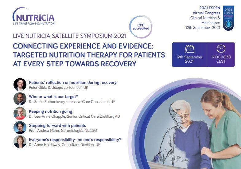 Live – Nutricia Satellite Symposium 2021